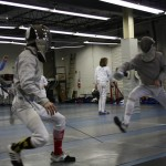 Sabreurs compete at the Capitol Division Summer Nationals Qualifiers at DC Fencers Club